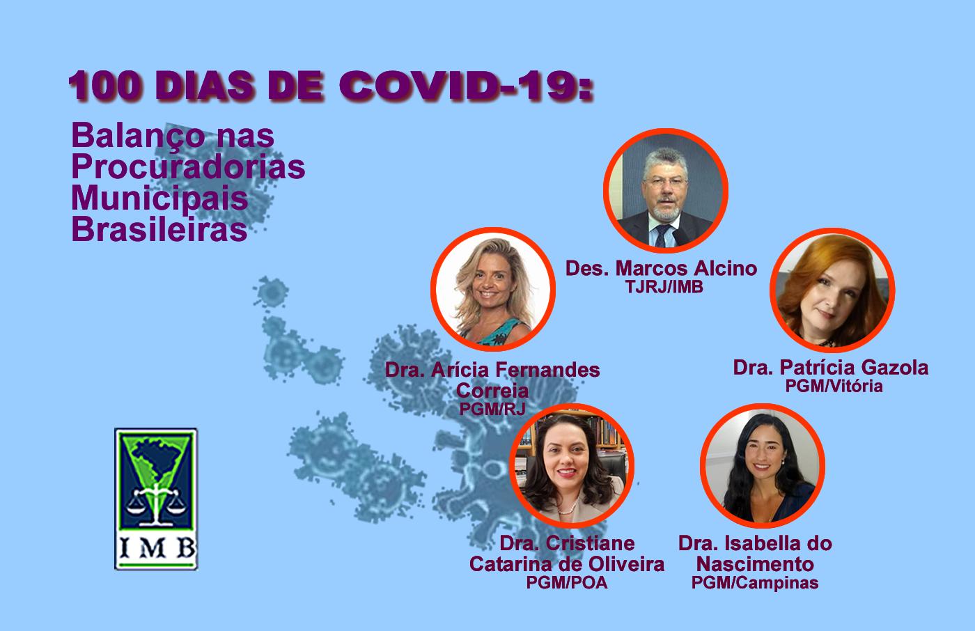 100 Dias de  COVID - Balanço nas Procuradorias Municipais Brasileiras