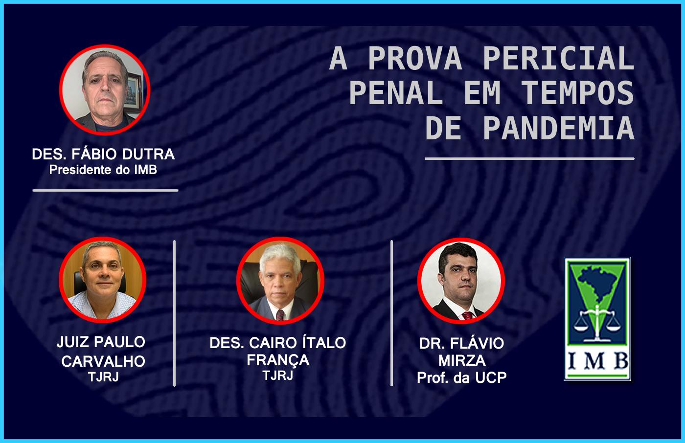 A Prova Pericial Penal Em Tempos de Pandemia