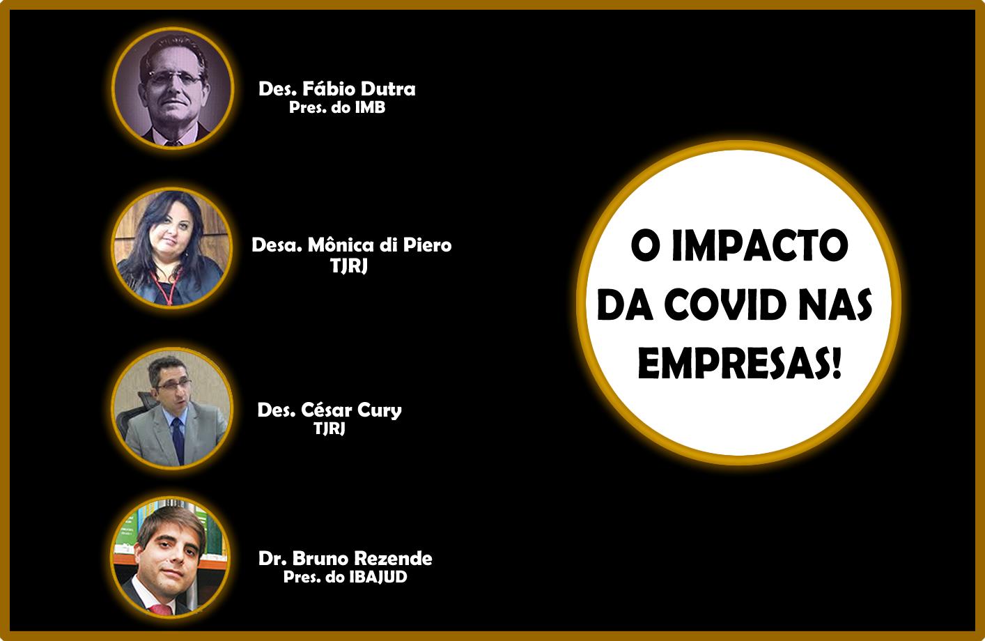 O Impacto da Covid nas Empresas!