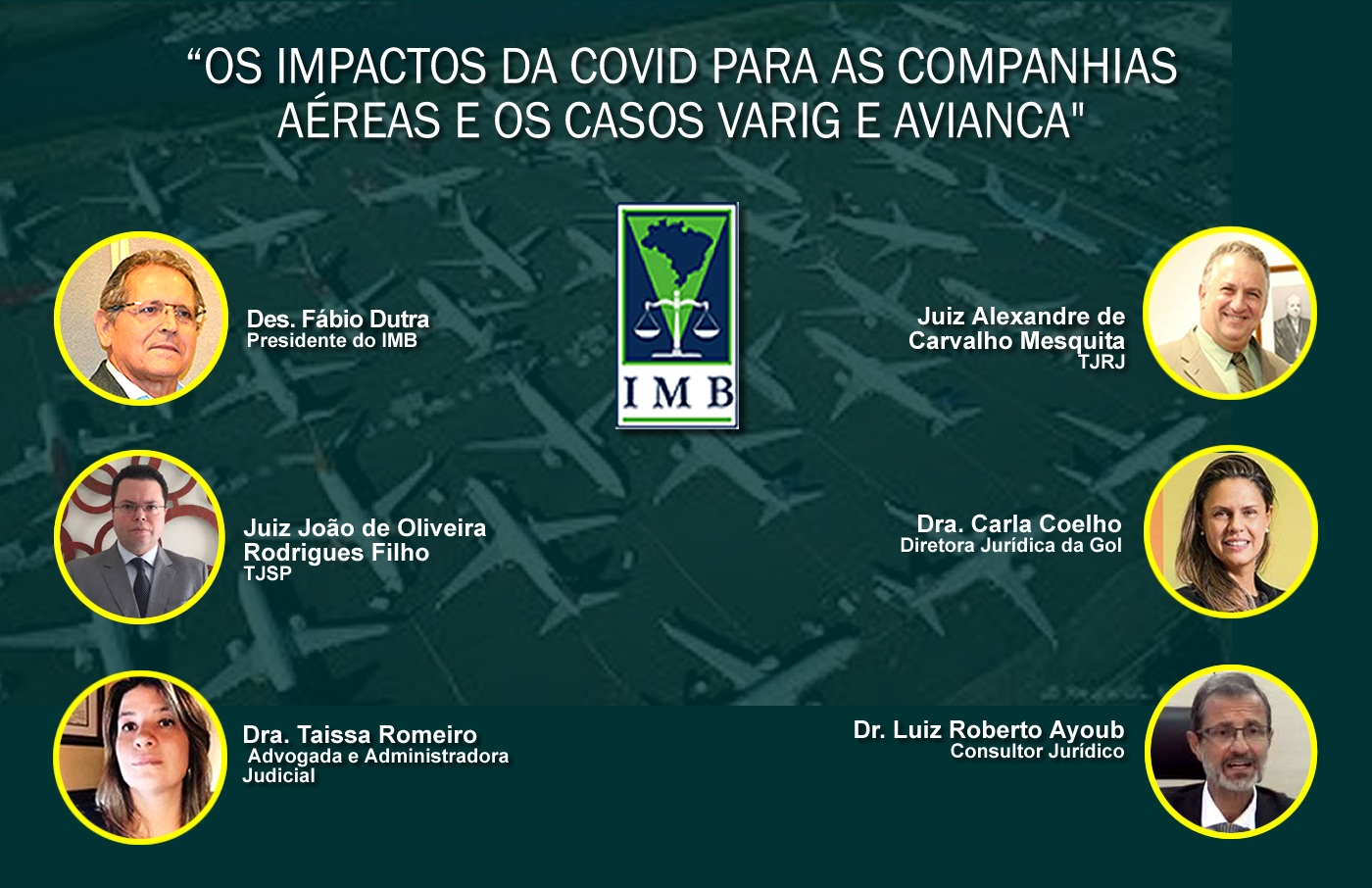Os impactos da Covid para as Companhias Aéreas e os casos Varig e Avianca