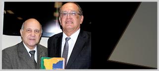 Ministro Gilmar Mendes lan�a livro na Emerj