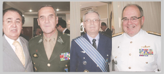 Posse dos Comandantes das For�as Armadas
