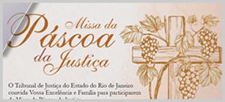 """Tribunal de Justiça do Rio de Janeiro realizará mais uma """"Páscoa da Justiça"""""""