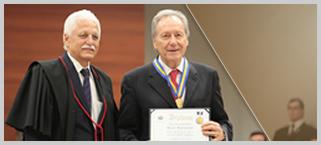 Presidente do STF e do CNJ homenageado no TJMT