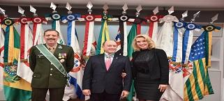 Presidente do IMB em São Paulo recebe honraria do Comando Militar do Sudeste