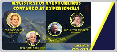 """Webinar do IMB: """"Magistrados Aventureiros Contando as Experiências"""""""