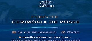 Posse da nova diretoria da Amaerj será em 26 de fevereiro