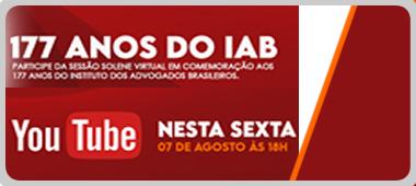 IAB comemora o seu 177º aniversário em sessão solene virtual