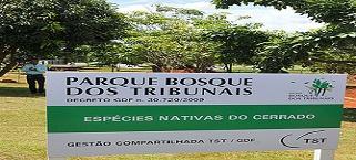 STJ, TST, TSE E GDF assinam acordo de cooperação sobre Bosque dos Tribunais