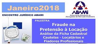 Abami organiza palestra sobre fraude na pretensão à locação