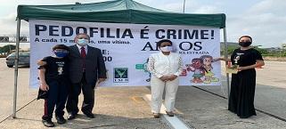 Desembargador Fábio Dutra comparece a evento sobre campanha contra pedofilia apoiada pelo IMB