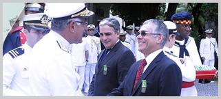 Presidente do TJRJ recebe Medalha Mérito Tamandaré